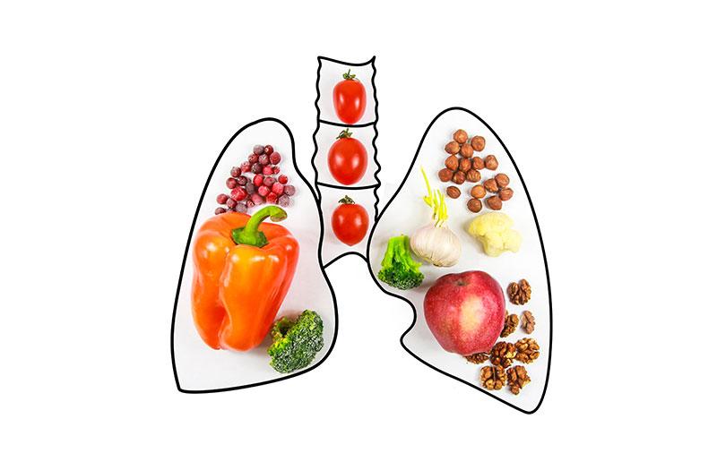Nên ăn gì để bổ phổi?