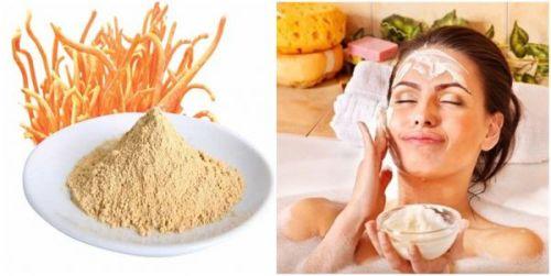 Công thức mặt nạ dưỡng da từ đông trùng hạ thảo cho làn da căng mịn