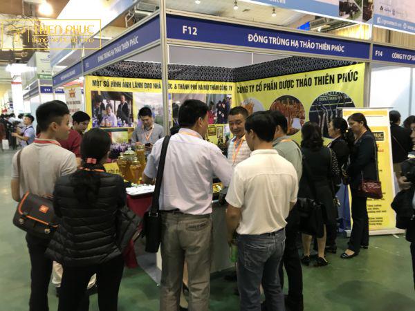 Dược thảo Thiên Phúc tham gia hội chợ VIETNAM GROWTECH 2018