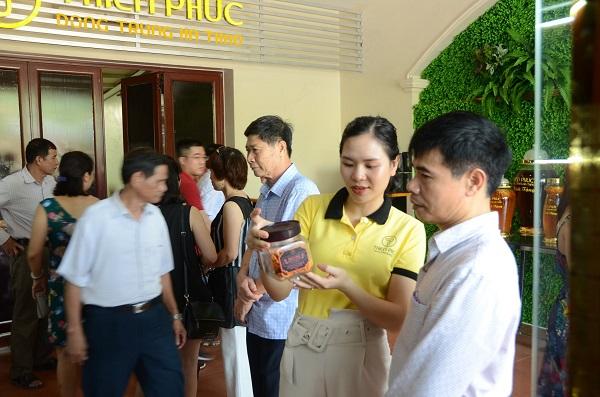 Thiên Phúc khai trương thành công Đại lý Đông trùng hạ thảo tại Hòa Lạc