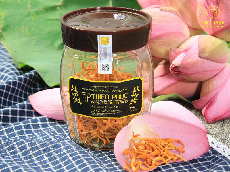 Địa chỉ mua đông trùng hạ thảo ở Hà Nội